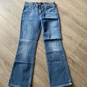 Levi's 525 perfect waist boot cut jeans size 10M